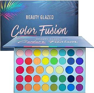 Beauty Glazed Rainbow Eyeshadow Palette - Professional 39 Color Makeup Matte Metallic Shimmer Eye Shadow Palettes - Ultra ...
