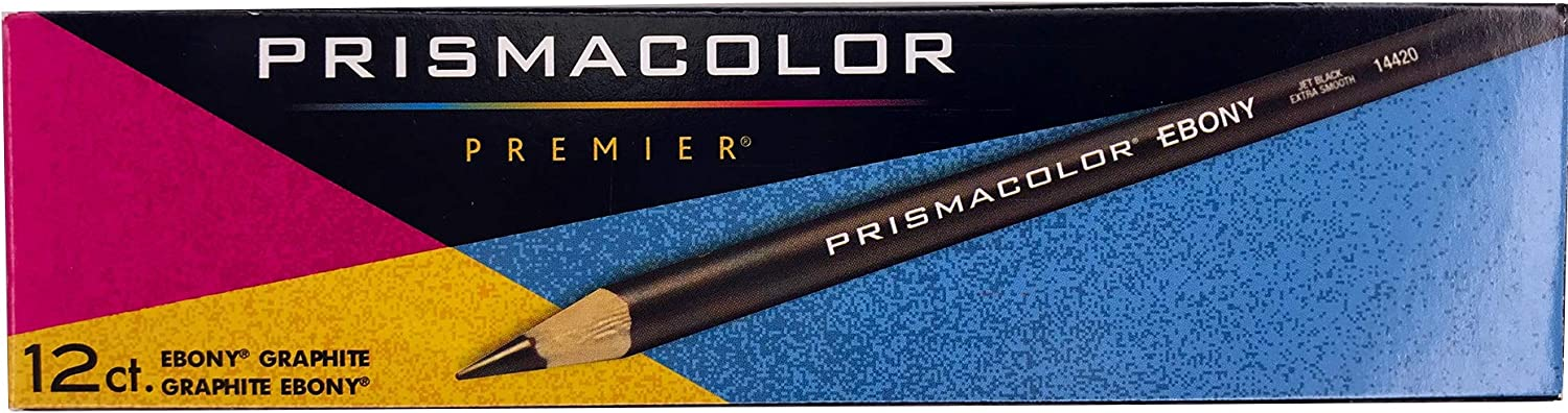 Prismacolor Ebony Graphite Pencils online shopping Black 1 Set Drawing Free shipping on posting reviews Pencil