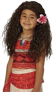 Rubie's-déguisement officiel - Disney- Perruque Vaiana - Taille Unique- I-33699