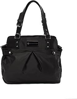 cee cee & ryan 'Justine' Baby/Diaper Bag, Carryall Satchel, Black