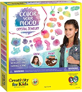 Faber-Castell CK6143 Creativity for Kids Colour Your Mood Crystal Jewellery Set