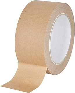 baytronic Papier-Packband Papier Klebeband Packband braun 50m x 50mm 6 Rollen