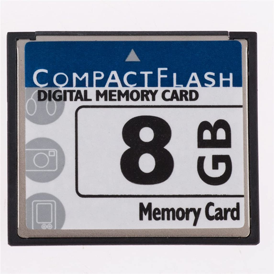 FengShengDa 8GB Compact Flash Memory Card Speed Up To 50MB/s, Frustration-Free Packaging- SDCFHS-8G-AFFP (8G)