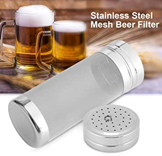 Beer Mesh Filter,300 Micron Stainless Steel Dry Hopper Beer Home Brewing Filter for Homemade Brew Home Cornelius Kegs