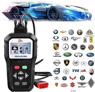 OBD2 OBDII EOBD Automotive Scanner, Diagnostic Code Reader for Vehicle Engine Fault O2 Sensor Systems Scan Tool Since 1996 - Black (KW818)