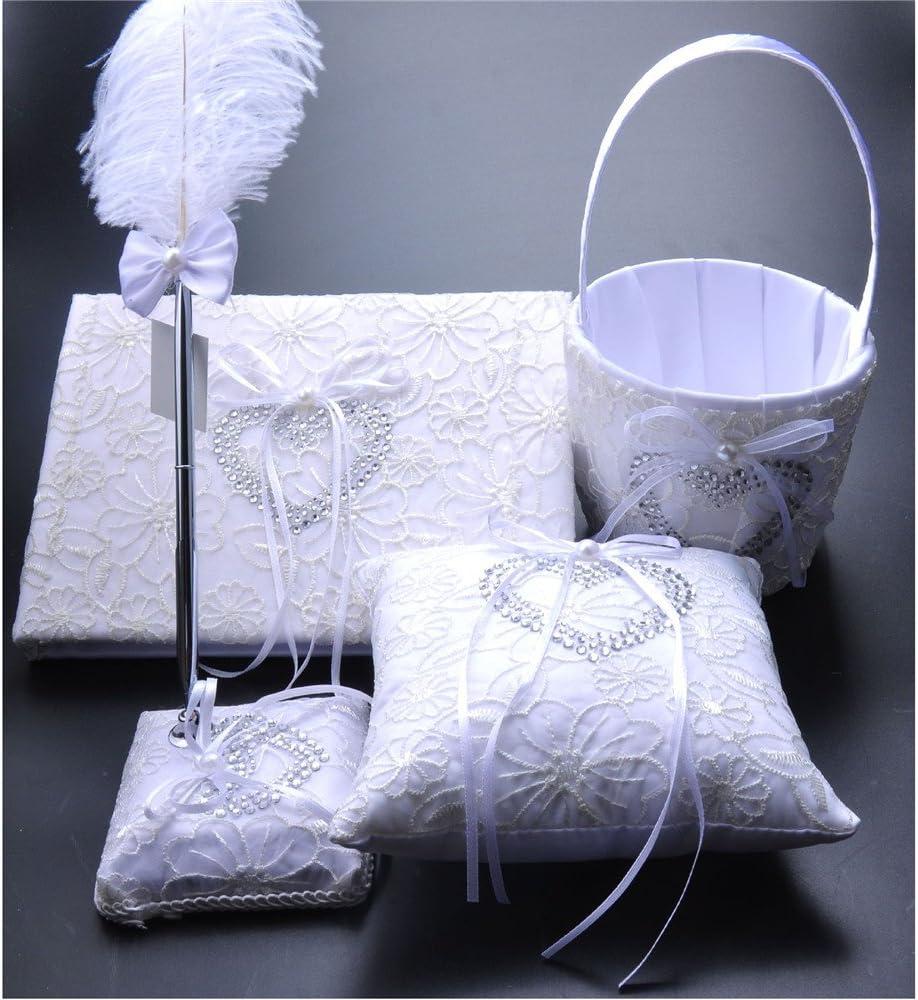 大人気 FYSTORE 4 in 1 Set Wedding Sets Book + Guest Accesorries 送料無料