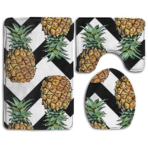 Pineapple Bathroom Decor Amazon Com