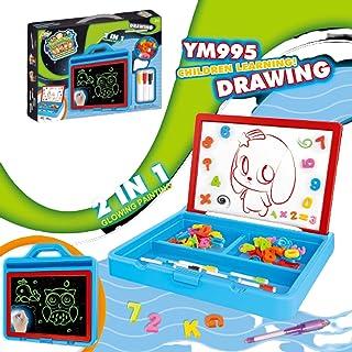 ضوء الفلورسنت لوحة الرسم مثيرة للاهتمام مضيئة لوحة الرسم ثلاثي الأبعاد للأطفال Portablestorageboxluminousboard