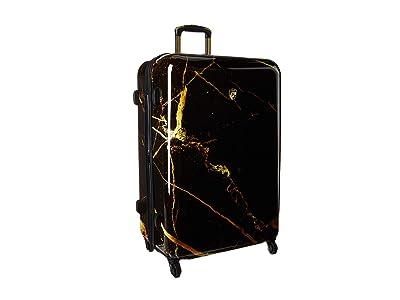 Heys America Portoro Marble 30 Spinner (Black/Gold) Luggage