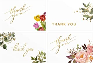 Solari USA Thank You Cards With Envelopes - Business Card, Baby Shower, Bridal Shower, Funeral, Graduation, Greeting, Note Cards, Small Business, Thank You Notes, Teachers, Wedding 4X6 (48Pack).