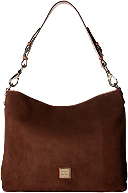 Dooney & Bourke - Suede Extra Large Courtney Sac