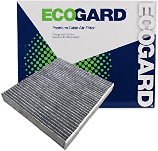 ecogard xc10218c cabin air filter with activated carbon odor eliminator -  premium replacement fits lexus is250