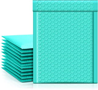 Metronic Teal Bubble Mailers 6x10 Shipping Bags, 25 Pack Poly Bubble Mailers, Padded Envelopes, Packaging for Small Busine...