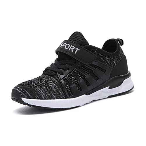 6bff22772bfa9 Piup Toddler Kid s Breathable Boys Girls Running Shoes Black 29