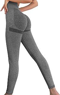 Bodybay Women High Waist Seamless Leggings Butt Lift Anti Cellulite Leggings for Workout