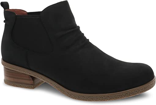 Black Waterproof Nubuck