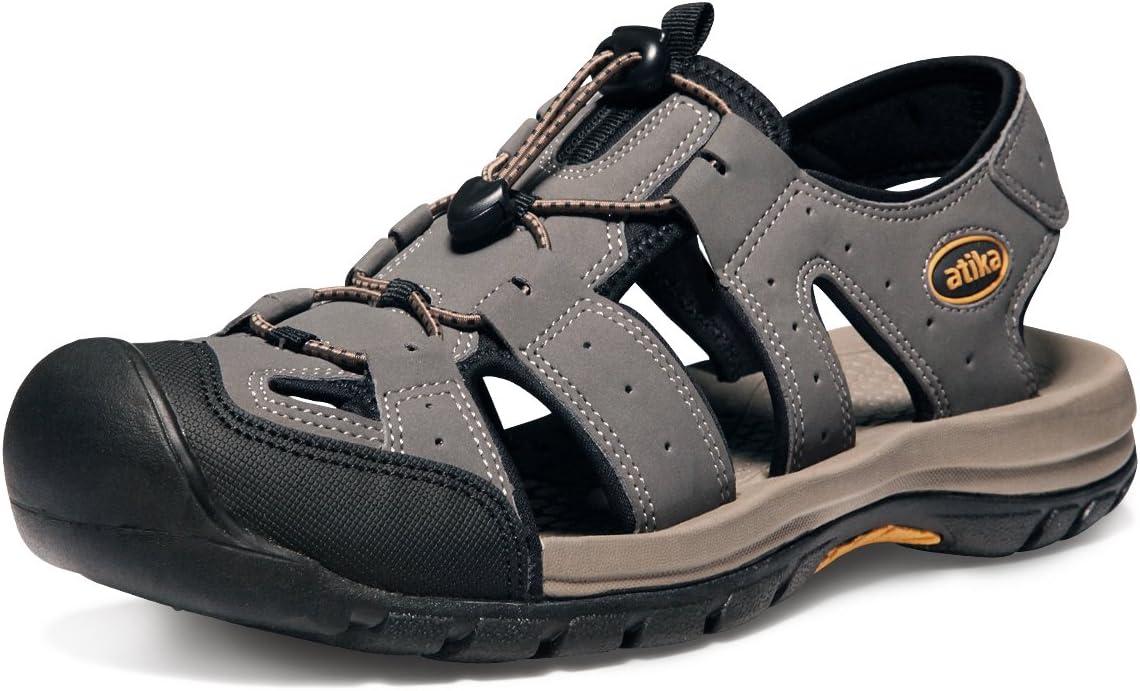 ATIKA 35% Max 44% OFF OFF Men's Outdoor Hiking Sandals Sa Walking Lightweight Trail