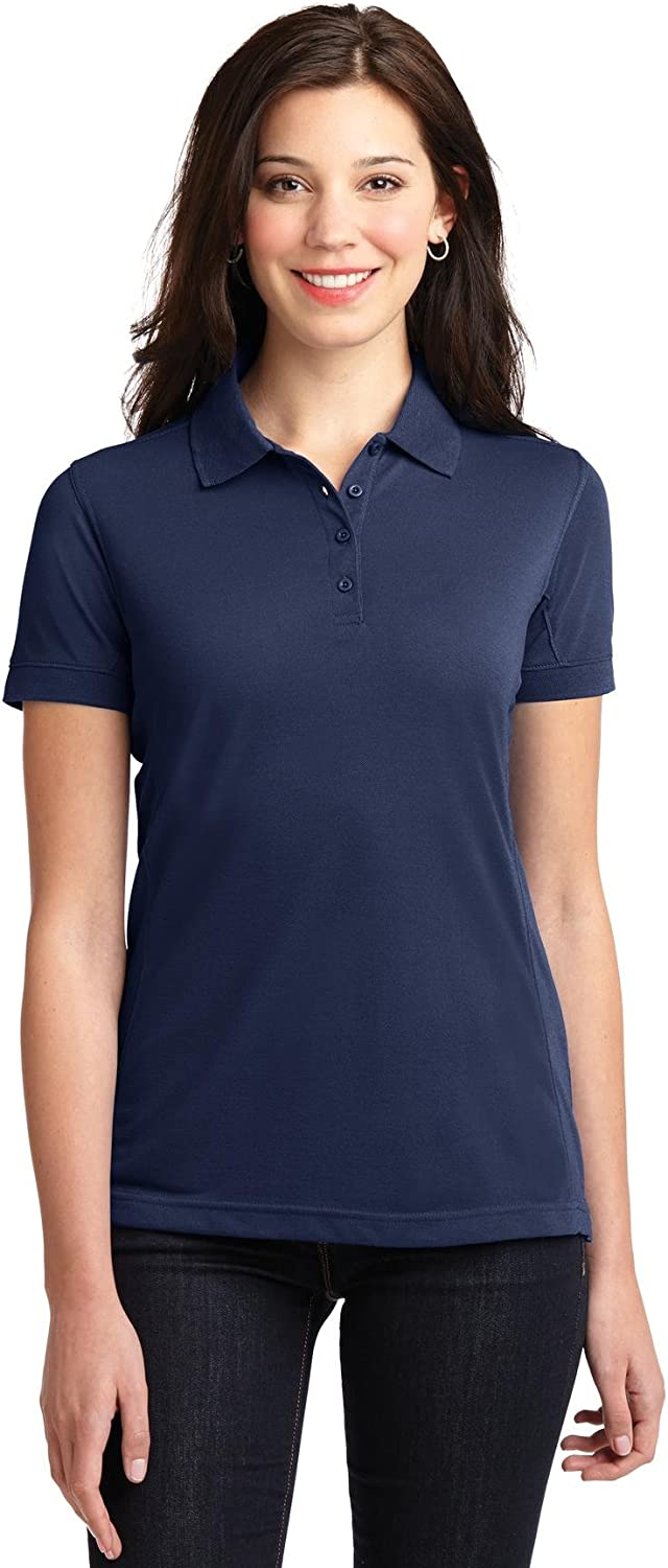 XtraFly Apparel Women's 5-in-1 Performance Pique Polo Shirt L567