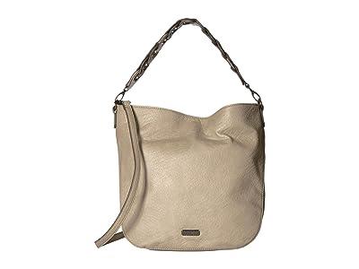 Jessica Simpson Valencia Hobo (Taupe) Hobo Handbags