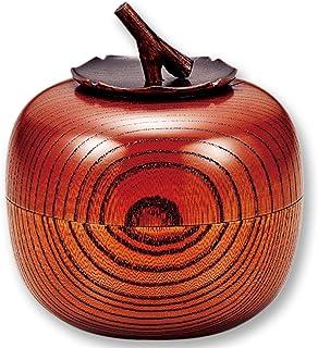 欅茶入れ 柿 AS3-1
