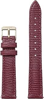 Minuit 16 mm Burgundy Lizard Leather Strap CLS379 Fits: Minuit, La Roche Petite, La Garconne & Triomphe