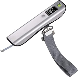 Luggage Scale Digital Travel Weighing Scale with Tape Messure 110lb 50KG Capacity
