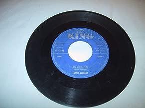tomorrow night 45 rpm single