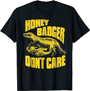 Best honey badger don t care shirt Reviews