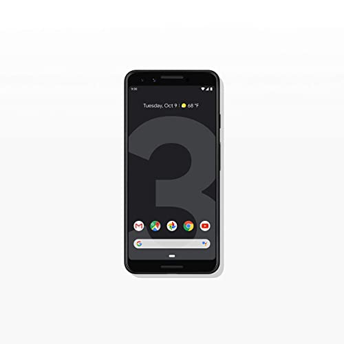 Google - Pixel 3 with 128GB Memory Cell Phone (Unlocked) - Just Black