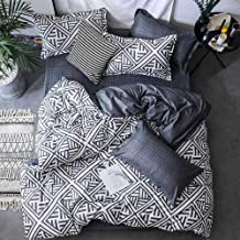 Luxury Bedding Set Duvet Cover Sets, Marbling Grey Comforter Bed, 3pcs Marble King Size Single Queen Full Twin,Linens Cott...