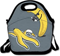 Banana War Lunch Bag Lunchboxes Outdoor Travel Picnic Lunch Box Bag Lunch Tote Handbag