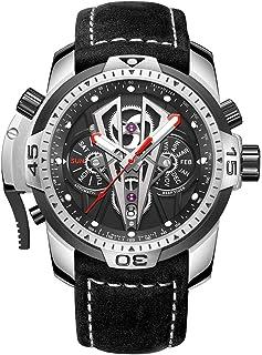 REEF TIGER - Reloj Analógico Automático para Hombre con Correa en Cuero RGA3591