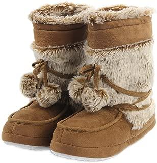 Home Slipper Women's Soft Fleece Plush Warm Indoor House Slipper Boots Shoes
