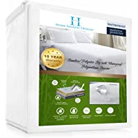 Home Fashion Designs Waterproof Mattress Protector (Queen)