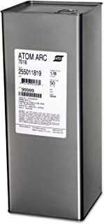 Esab Welding 255011819 Stick Electrode - Atom ARC 7018 Welding Wires, 1/8