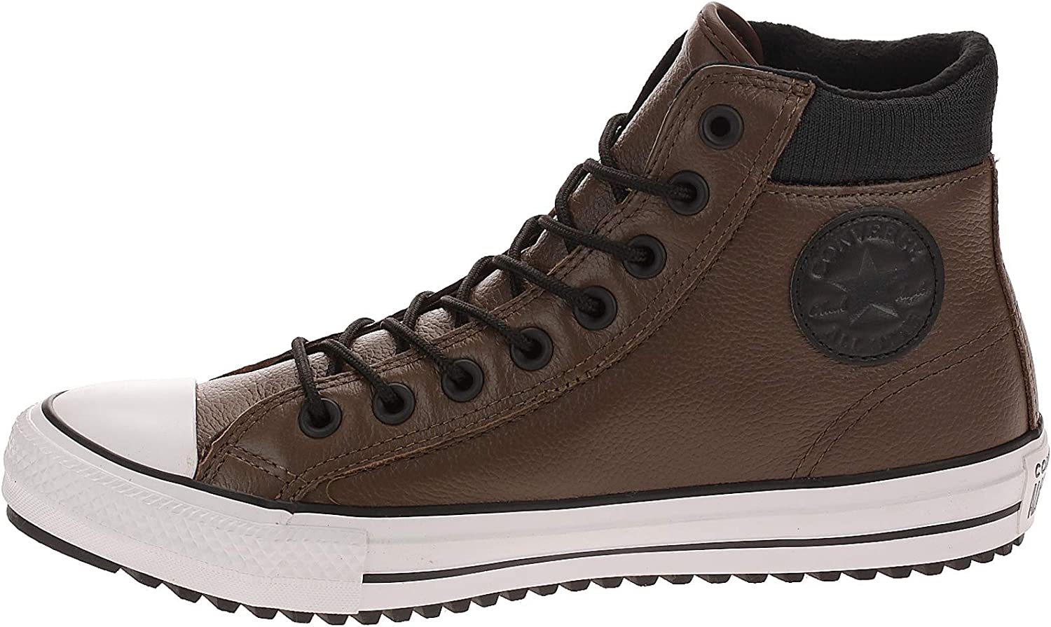 CT All Star Hi PC Leather Boots, Brown