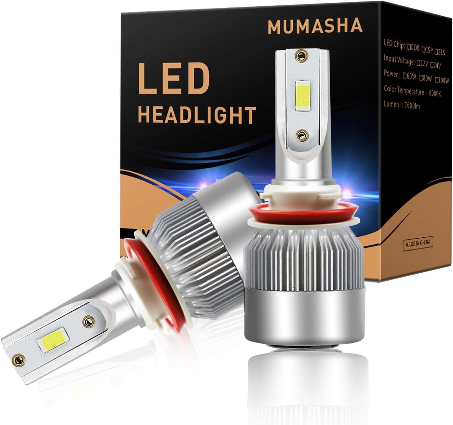 Headlight Assemblies & Parts 70W 10000LM 6000K Xenon White With ...