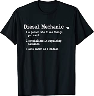 Diesel Mechanic Shirt - Funny Definition