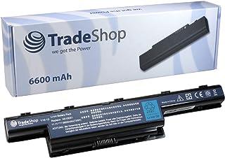 Trade-Shop - Bateria para portátil (para Acer Aspire 5750 5750G 5750G-2312G50 7551G 7551 7551-2755 7551-3068 7551-3416 7551-3634 7551-5358 7551G 7551G-5407 7551G-5821 7551G-6477 7551G-N834G32Mn, 6600 mAh)
