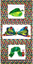 Andover The Very Hungry Caterpillar Transformation Panel Fabric, M