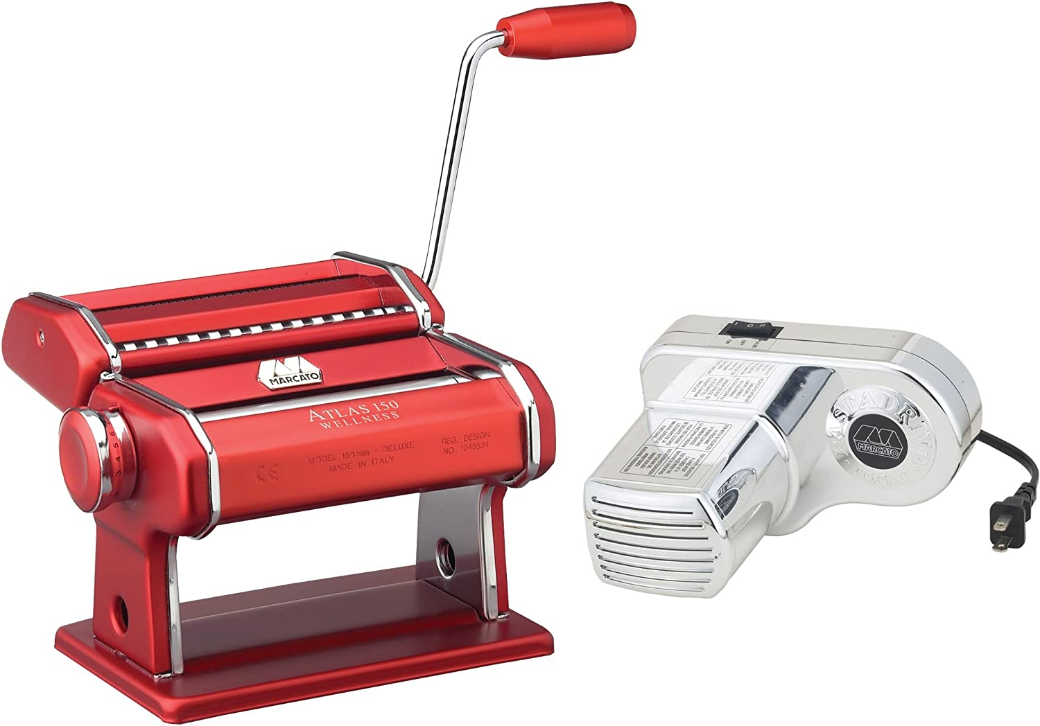 Atlas Electric 150 New item Pasta cheap Red with Machine Motor