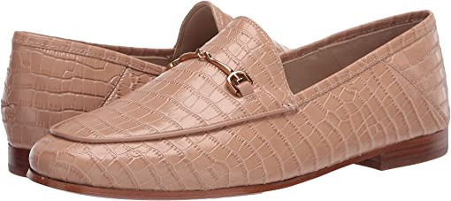 Toasted Almond Kenya Croco Leather