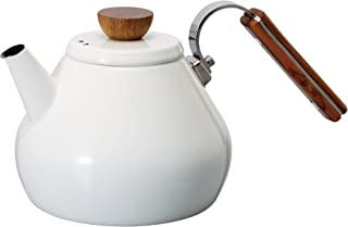 HARIO BTK-80-W Bona Tea Kettle-800ml, One size, White