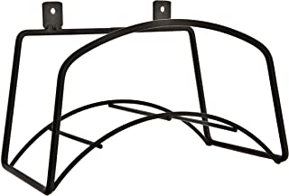 Garden Hose Holder – Solid Steel – Secure to Your Wall with Fittings Included