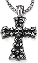 Best cross and skull necklace Reviews
