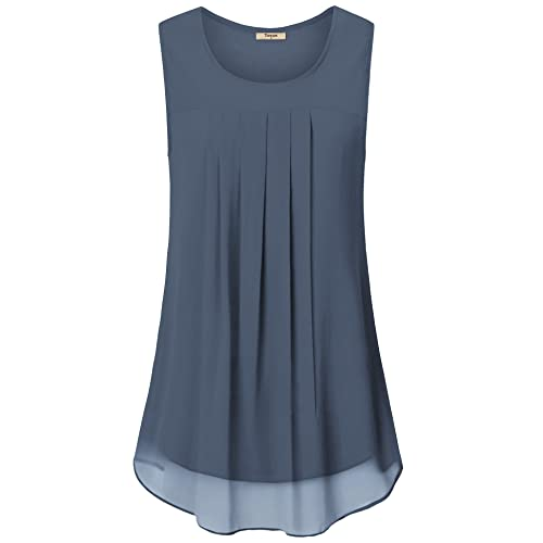 Simple and Clean Easy to Match Women Summer Zipper African Printing Sleeveless Tunic T-Shirt Tops Blouse