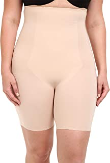 Women's Plus Size Thinstincts High-Waisted Mid-Thigh Short