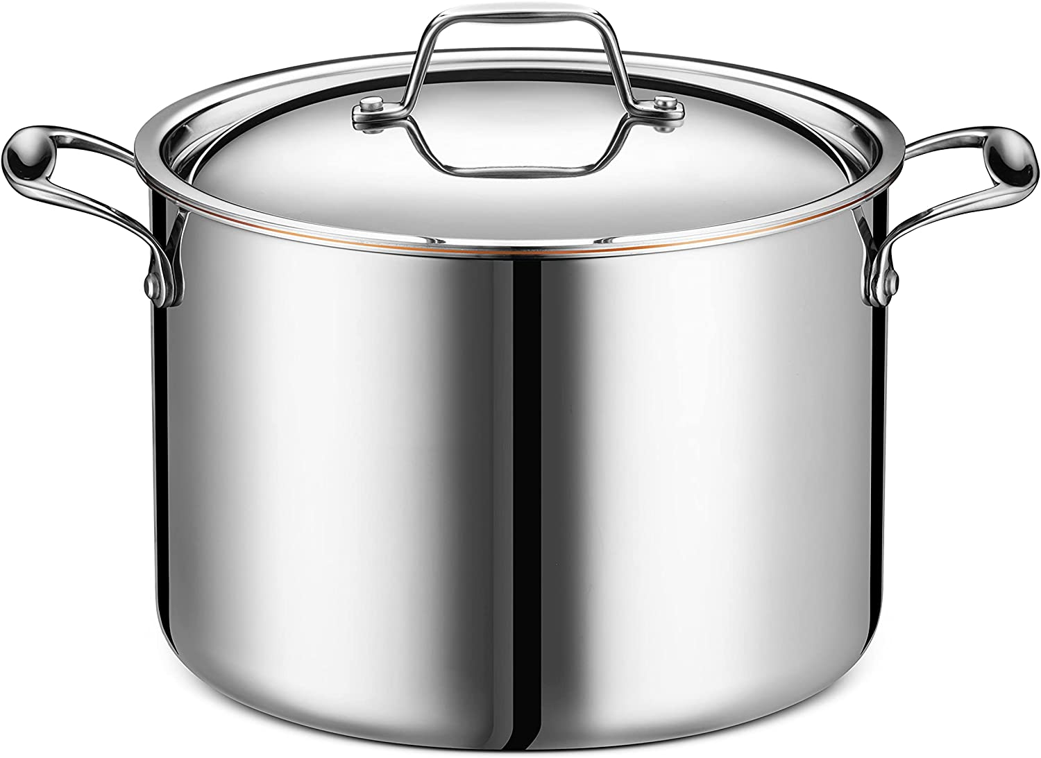 Legend Stainless 8-Quart Copper Outstanding Core ply Steel Stock 5 Dallas Mall
