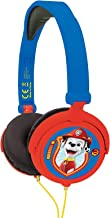 Lexibook Paw Patrol Chase Marshall Stereo Headphone,Safe Volume, Foldable and Adjustable, Blue/red, HP015PA