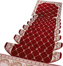 HAIPENG Stair Treads Carpet Pads Anti Slip Runner Mats Self Adhesive Step Rugs Staircase Ottomans Home, Customized, 3 Size...